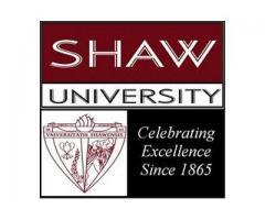 Shaw University - Employment Listing